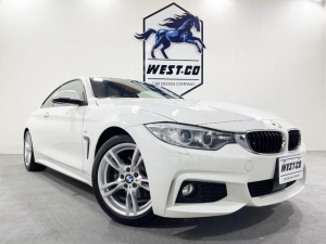 BMW 4シリーズ 420iクーペ Mスポーツ ワンオーナー車 レッドレザー レーンディパーチャー 純正ナビ バックモニター Bluetooth パドルシフト 純正AW シートヒータ― パワーシート 過去記録簿 オートエアコン コンフォートアクセス