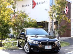 BMW 1シリーズ 118d Mスポーツ コンフォートP パーキングサポートP 禁煙車 純正HDDナビ バックカメラ クルコン 衝突軽減ブレーキ レーンキーピング LEDオートライト LEDフォグ Rセンサー スマートキー Pスタート ETC