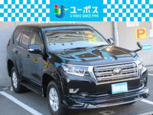 トヨタ ランドクルーザープラド TX 4WD WALDエアロフェンダー コンビハンドル