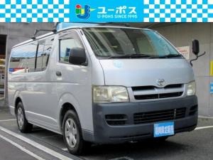 トヨタ ハイエースバン ロングDX ディーゼルターボ タイヤハウス 小窓あり