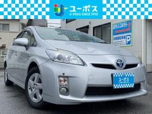 トヨタ プリウス S ワンオーナー・禁煙車・ディーラー純正ナビ・Rカメラ