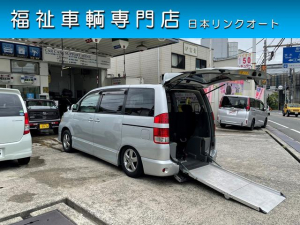 トヨタ ノア  福祉車両 スローパー 車いす2台