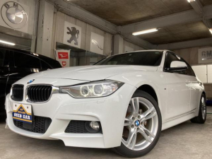 BMW 3シリーズ 320d Mスポーツ 正規ディーラー車 ワンオーナー ディーゼルターボ 電動黒レザー調シート Bluetooth接続 CD DVD バックカメラ ミラーETC スペアキー有