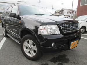 フォード エクスプローラー XLT 4WD ワンオーナー 黒革シート ETC