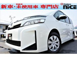 トヨタ ヴォクシー X 新車 両側パワスラ 衝突軽減ブレーキ 7人乗り LED