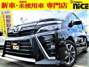 トヨタ ヴォクシー ZS 煌II 新車・両側パワスラ・クルコン・クリアランスソナー・LEDヘッドライト・フォグライト・衝突軽減ブレーキ・ウインカードアミラー・アイドリングストップ・16AW