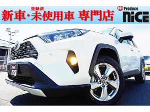 トヨタ RAV4 G新車 ソナー レザー Bカメラ 衝突軽減ブレーキ LED