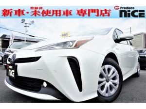 トヨタ プリウス S 新車 ナビレディP 前後ソナー LEDフォグ