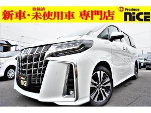 トヨタ アルファード 2.5S Cパケ 三眼サンルーフDオーディオ登録済未使用車