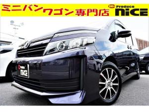 トヨタ ヴォクシー X 16AWシートカバー・SDナビBluetooth・ETC