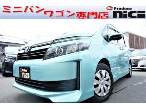 トヨタ ヴォクシー XスマートキーSDナビ Bカメラ Bluetooth ETC