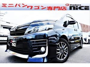 トヨタ ヴォクシー ZS両側パワスラLEDヘッドライトSDナビバックカメラETC