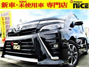 トヨタ ヴォクシー ZS 煌III 新車・ナノイー付・ハーフレザーシート・オートクルーズ・両側パワスラ・クリアランスソナー・衝突軽減ブレーキ・レーンキープ・LEDヘッド・オートハイビーム・USB