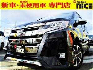 トヨタ ノア Si ダブルバイビーIII 新車・ナノイー搭載・クリアランスソナー・衝突軽減ブレーキ・両側パワスラ・クルコン・コンビハンドル・LEDヘッドライト・オートハイビーム・アイドリングストップ純正16インチアルミ
