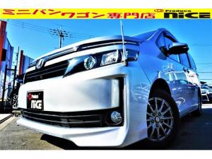 トヨタ ヴォクシー X Cパッケージ 社外15AW・純正SDナビ・地デジTV・Bluetooth・バックカメラ・ETC・ハロゲンヘッドライト・ウインカードアミラー両側スライドドア・キーレスエントリー