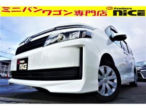 トヨタ ヴォクシー X Cパッケージ バックカメラ・ETC・カロッツェリアメモリーナビ・ワンセグTV・ハロゲンヘッドライト・LEDテールランプ・ウインカードアミラー・フロントデュアルエアコン・キーレス
