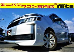 トヨタ ヴォクシー X Cパッケージ 純正SDナビ・Bluetooth・ワンセグTV・バックカメラ・ETC・両側スライドドア・キーレス・オートエアコン・ウォークスルー・LEDテール・ハロゲンヘッドライト
