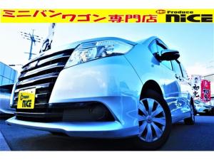 トヨタ ノア X Vパッケージ 純正オーディオデッキ・フロントデュアルエアコン・ウインカードアミラー・ハロゲンヘッドライト・ステアリングスイッチ・キーレスエントリー・3列シート・8人乗り・15インチタイヤ