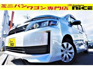 トヨタ ヴォクシー X Cパッケージ 純正SDナビ・Bluetooth・ワンセグTV・AUX・Bカメラ・ETC・キーレスエントリー・両側スライドドア・ハロゲンヘッド・LEDテール・フロントデュアルエアコン・ウインカーミラー
