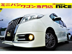 トヨタ エスクァイア Gi ドライブレコーダー・純正SDナビ・Bluetooth・ワンセグTV・バックカメラETC・シートヒーター・コンビハンドル・ハーフレザー・LEDヘッドライト・クルコン・両側パワスラ・スマートキー