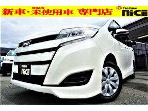 トヨタ ノア X 新車・プッシュスタート・クルコン・衝突軽減ブレーキ・片側パワースライドドア・LEDヘッドライト・オートハイビーム・ウインカードアミラー・USBソケット・アイドリングストップ・3列シート