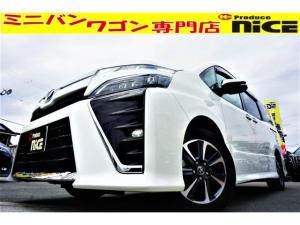 トヨタ ヴォクシー ZS 煌II 衝突軽減ブレーキ・ソナー・オートクルーズ・純正ナビ・Bluetooth・フルセグTV・USBソケット・両側パワスラ・LEDヘッドライト・オートハイビーム・スマートキー