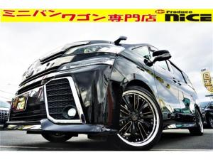 トヨタ ヴェルファイア 3.5ZA Gエディション クレンツェ20AW・TRDサスペンション・サンルーフ・シートメモリー・クルコン・衝突軽減ブレーキ・11型後席モニター・純正ナビBluetooth・Bカメラ・シートヒーター・ソナー