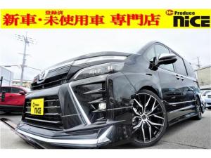 トヨタ ヴォクシー ZS 煌III 新車・トヨタセーフティセンス・クリアランスソナー・レーンキープ・LEDヘッド・オートハイビーム・USBソケット・ナノイー搭載・ハーフレザーシート・両側パワスラ・オートクルーズ
