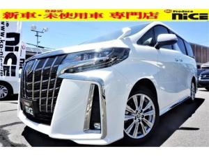 トヨタ アルファード 2.5S タイプゴールドII 新車・ムーンルーフ・Dオーディオ・Bluetooth二眼LED・衝突軽減ブレーキ・バックカメラ・レーダークルーズ・クリアランスソナー・電動リアゲート・ハーフレザー・両側パワスラ