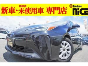 トヨタ プリウス S 安全ブレーキ オートハイビーム LEDヘッドライト プッシュスタート 純正SDナビ バックカメラ Bluetooth アイドリングストップ オートエアコン スマートキー CD DVD