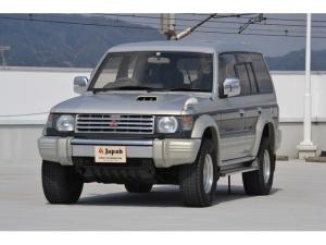 三菱 パジェロ ワイド エクシード 1オーナー 社外AW SR ETC