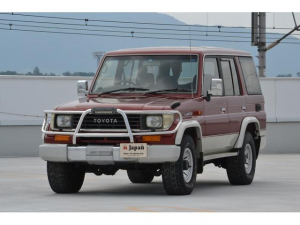 トヨタ ランドクルーザープラド EXワイド 3000D-T グリルガード ノーマル 下廻り良