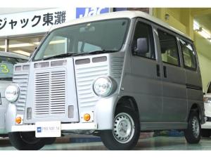 ホンダ アクティバン フレンチバス仕様フロント&リアフェイス 車検令和3年7月