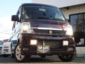 スズキ エブリイワゴン PZターボスペシャル 4WD ターボ ハイルーフ 両側パワースライドドア ETC HID CDデッキ 左オートステップ