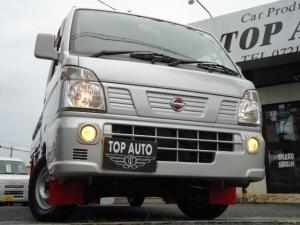 日産 NT100クリッパートラック GX 4WD 5速ミッション デフロック キーレス ワンオーナー 1年保証付