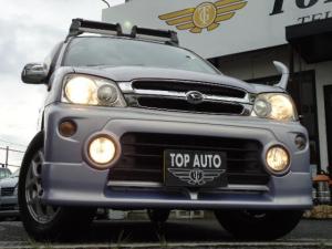 ダイハツ テリオスキッド カスタムX 4WD 5速ミッション ポータブルHDDナビ