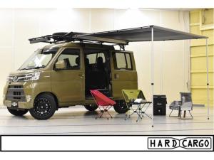 ダイハツ ハイゼットカーゴ HARDCARGOデッキバン 4AT 4WD
