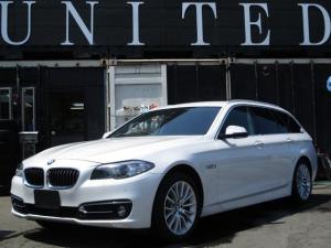 BMW 5シリーズ 523dツーリング ラグジュアリー 電動リアゲート 保証付
