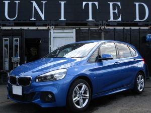 BMW 2シリーズ 218dアクティブツアラー Mスポーツ 安心ロング無料保証付