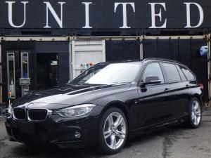 BMW 3シリーズ 318iツーリング Mスポーツ 電動リアゲート パワーシート スマートキー 純正ナビ バックカメラバックセンサー クルーズコントロール 安心ロング無料保証付