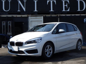 BMW 2シリーズ 218dアクティブツアラー クリーンディーゼルターボ 純正ナビ バックカメラ バックセンサー LEDライト 安心ロング保証付