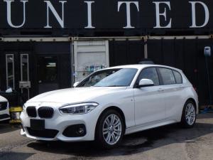 BMW 1シリーズ 118i Mスポーツ 純正ナビ バックカメラ バックセンサー クルーズコントロール LEDライト 安心ロング保証