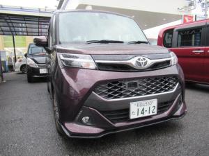 トヨタ タンク カスタムG-T アルパイン専用ナビ・TV・両側Pドア