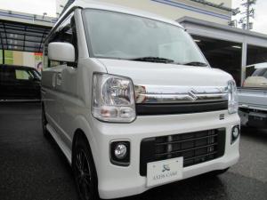 スズキ エブリイワゴン JPターボ 福祉車両スローパー・リア補助シート付・外品ナビ・TV・ETC