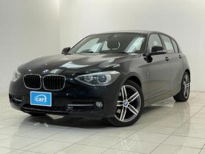 BMW 1シリーズ 116i スポーツ ワンオーナー禁煙車 メーカーナビ 社外フルセグTV OP17AW ガレージ保管