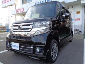 ホンダ N-BOXカスタム G・Lパッケージ ナビ 軽自動車 スマートブラック CVT