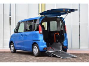 スズキ スペーシア 車いす移動車X リヤシート付 スロープ 電動ウインチ