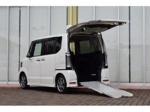 ホンダ N-BOX+カスタム G 車いす仕様車 スロープ 電動ウインチ 8インチナビTV