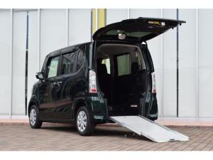 ホンダ N-BOX+ G・Lパッケージ 車いすスロープタイプ リアシート付 4人乗り 電動ウィンチ パワースライドドア あんしんパッケージ ドライブレコーダー ビルトインETC