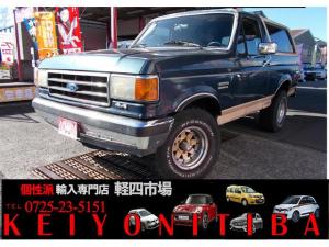 フォード ブロンコ エディバウアー 4WD/地デジナビTV